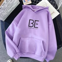 Kpop Korea Hoodies Sweatshirts 2021 Women Casual Kawaii Harajuku Fashion Hip Hop Streetwear Hooded Tops K- Clothes Women's &