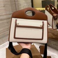 Дизайнерские сумки на плечо Классический мешок для мешка Джут и хлопчатобумажный Смешанный материал Модные сумки Размер: 30 * 25см