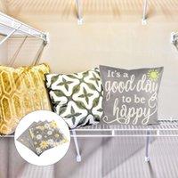 Bedding Sets 4Pcs Decorative Pillowcase Washable Sofa Bed Cushion Cover Stylish