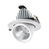 Spotlights LED Indoor Lighting Ceiling Elephant Trunk Lamp Adjustable Angle Embedded Home Living Bedroom Room Corridor Shop