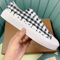 Klasik Sneakers Bayan veya Erkek Tuval Ayakkabı Chaussures de Designer Espadrilles Pamuk ve Dana Üretim En Kaliteli Çek Şerit Tasarım 35-45 Kutusu Ile