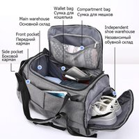Gym Bag Multifunction Men Sports Bags Woman Fitness Laptop Backpacks Hand Travel Storage With Shoes Pocket Yoga Duffel