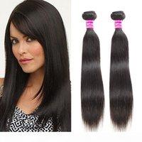Il venditore ha raccomandato 8 A Straight Brazilian Dritto 20 22 24 26 pollici Virgin Human Hair Bundles Fornitori Analizzatori di capelli non trasformati Wefts per donna nera