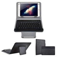 Teclado de teclado Bluetooth inalámbrico para almohadilla 7 8 pulgadas 9 10 PU CUBIERTE DE CUERO DE CUERCO DE CUERCO + OTG + PEN TABLA DE TABLAR
