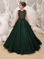 Girl's Dresses Flower Girl Style Party Wedding Banquet Two Pieces Birthday Dance Performance Walk