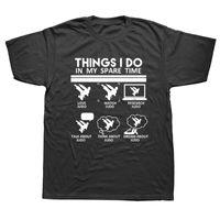 Вещи, которые я делаю в свободное время смешное боевое искусство дзюдо т рубашки графические моды хлопок с коротким рукавом o-шеи harajuku футболка мужские футболки мужские футболки