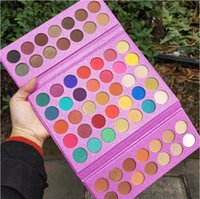 63 Colors Series Makeup Eyeshadow Palette, Pro Colorful Eye Shadow High Pigmented Matte And Sparke Glitter Eyeshadow Pallet Easy To Blend, Sunset and Nude Shades