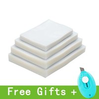 Storage Bags 100PCS LOT Vacuum Plastic Bag For Sealing Machine Pack Food Saver Packaging Rolls Packer Seal