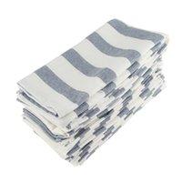 12PCS SET 45x45cm cotton linen Squre Cloth Napkins placemat 17INCHES dining tablecloth Napkin fabric table placemats
