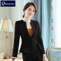 Primavera Small Suit Dress Woman S Anchor Anchor Anch'host Host Professionale Abiti Cappotto Corto Abiti da donna Blazer