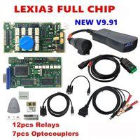 PP2000 Lexia3 أداة مع المسلسل 921815C Firmware Golden PCB V9.91 Lexia 3 Diagbox V7.83 V8.55 رقائق تشخيص كاملة