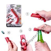 Favor Beer Opener Firing Gun Creative Flying Cap Launcher Bottle Shooter Funny Kitchen Tools