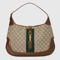 2021 En Kaliteli 9 Renkler Jack Koltukaltı Çanta Tuval Deri Omuz Çantaları Kadın Lüks Çanta Tasarımcı Crossbody 1313