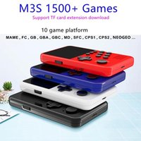 Mini Handheld Game Players 16 Bit Retro Smart Video USB Charging Gaming Console With 4G Games Card For Kids Portable
