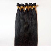 İşlenmemiş Güzellik Siyah Kadınlar Brezilyalı Malezya Bakire Düz İnsan Saç Dokuma Tam Kekik Hizalı Fabrika Doğrudan Satış Toptan Satış