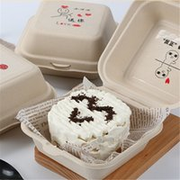 Кекс торт коробка бумаги упаковочная коробка одноразовый выпечки бургер десерт Уэст-точка рука подарочная коробка CCF7819