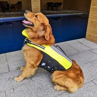 Dog Collars & Leashes Pet Swimming Swimsuit Life Jacket With D Ring Reflective Swiming Clothes Vest Outdoor Swim Float Costumes