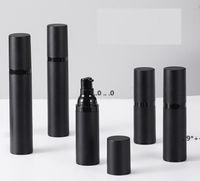 Boş Sprey Pompa Şişe Siyah Plastik Havasız Losyon Şişeleri Olarak Buzlu 15ml 30ml 50ml Kozmetik Subbottle FWF6133