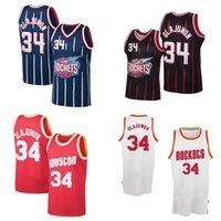 Baloncesto Jersey 34 Hakeem Olajuwon