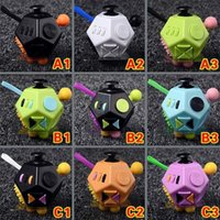 Decompression Finger Toys Fashion Fidget Dice Second Generation Party Favor Cube Holy Crystal Magic Anti Anxiety for kid Adult