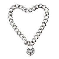 Goth Harajuku Heart Love Lock Punk Necklace Igirl 90s Aesthetic Accessories Jewelry Choker E Boy Girl Collares Chains Emo Pendant Necklaces
