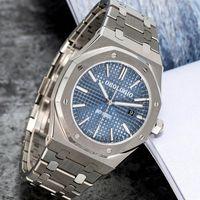 Мужские автоматические механические часы Классический стиль 42 мм полный ремешок из нержавеющей стали высшего качества на наручных часах Sapphire Sapphire Super Luminous U1 завод