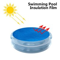 Pool & Accessories Accessoire Black Round Swim Cover Protector Foot Above Ground Solar Warm Protection Swimming Piscina