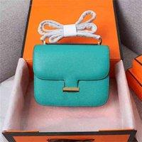 handbag2021 Schoudertas High-end Luxe Mode All-match Tofu Leather H gesp Home Aangepaste ontwerp Verscheidenheid van kleurenGg baghileng wan wan