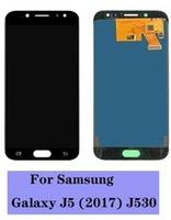LCD 디스플레이 삼성 갤럭시 J5 PRO J530 OLED 스크린 터치 패널 디지타이저 교체 프레임없이