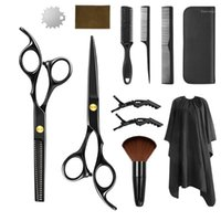 Hairdressing Hair Scissors Professional Barber Cutting Thinning Cape Barbershop Haircut Shears For Hairdressers Set Kit1