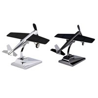 Car Air Freshener Solar Decoration Energy Aircraft Model Powered Kit