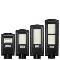 500W 1000W 1500W 2500W 150/462/748/924 Lámpara de pared del sensor de movimiento de la luz de la calle PIR de la luz de la luz de la energía solar LED + control remoto - 468led