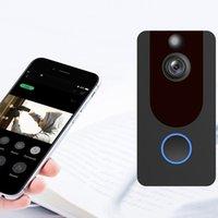 V7 Video Camera Camera IP WiFi 1080p Sem Fio Inteligente Anel de Intercomunicação De Porta Bell Home Security CAM