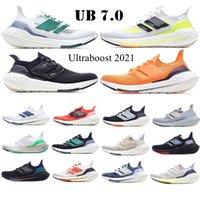 2021 UB 7.0 أسود الشمسية الرجال الاحذية الصفراء ultraboost 20 الأساسية الثلاثي سحابة أبيض 4.0 رمادي فولت ساشيكو الرجال النساء المدربين الرياضة أحذية رياضية 36-45