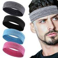 Headband esportes ao ar livre portátil fitness cabelo faixas homem mulher envoltório brace elástico ciclismo yoga executando o suorband