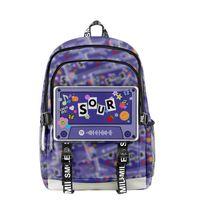 Backpack 2021 3D Olivia Rodrigo Sour Men Women Oxford School Bag Hip Hop Style Teenager Girl Child Travel
