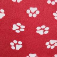 60 * 70cm Couverture d'animaux Petite Paw Patte d'imprimante Chat Cat Dog Mollet Touche Soft Warmer Beaux Couvertures Coussin Coussin Couverture de chien Couverture 22 Couleurs DBC 433 V2