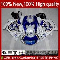 Fairings Kit For SUZUKI SRAD GSXR 750 600 CC 600CC 750CC 96-00 Bodywork 22No.32 GSXR750 GSXR-600 96 97 98 99 00 GSX-R750 GSXR600 Lucky blue 1996 1997 1998 1999 2000 Bodys