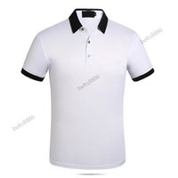 2021 Business Casual Polo Polo Tshirt Uomo Sleeve Stripe Slimmer Manly Society Moda uomo Controllato cinque choo di colore