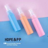 30ml 1oz colorido animal de estimação plástico frascos de pulverização com pulverizador de bomba de atomizador claro, belo névoa tamanho reutilizável líquido cosmético DHD7324