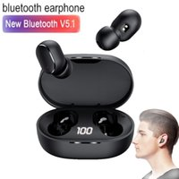 TWS E6S Bluetooth Earphones Wireless Earbuds For Xiaomi Redmi Noise Cancelling Headsets With Microphone Handsfree Headphones