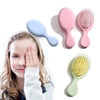 Hair Brushes Scalp Massage Comb Princess Hairbrush Wet Curly Detangle Brush For Salon Hairdressing Styling Tools Girl Wholesale