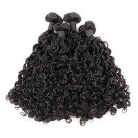 ishow funmi 머리카락 100A Bunchy 로즈 컬 버진 인간의 머리카락 3 / 4Blundles 자연 색상 패션 브라질 페루 말레이시아 인도 머리카락