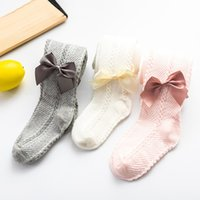 0 to 4 Years Spring Autumn Baby Girls Tights Beautiful Bowknot Mesh Pantyhose For Infants Newborns Toddlers Cotton Tight For Kid 850 Y2