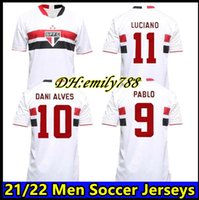 2021 2022 Sao Paulo Fußball Jersey Mann Frauen Kinder Pato Igor Gomes Dani Alves Football Hemden Hernanes Brenner Luan Pablo Luciano Uniformen Camisa de SPFC 21/22