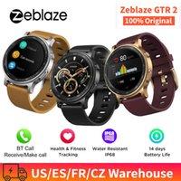 デザイナーの高級ブランドの時計ZE GTR 2スマート男性を受ける/呼びかけヘルスフィットネスモニターロングバッテリーライフスマートな耐水IP68