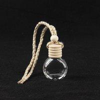 Автомобильная парфюмерная бутылка подвесной орнамент аромат диффузоров освежитель воздуха для визаусов диффузора аромат пустые стеклянные бутылки оптом 1283 v2