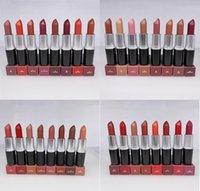 Heiße beste Qualität Matte Amplifizierte Lippenstift M Make-up Samt Teddy Lippenstifte Honig Liebe Matte Lippenstifte 3G 29 Farben Lippenstift mit englischem Name