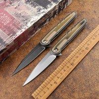 Portable D2 blade G10 fruit folding knife sharp handle DE outdoor camping tactics hunting self-defense multifunctional EDC tool