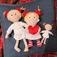Mon Lapinou Cute Mittle Mittle Coco девушка плюшевые игрушки 15см сумка маленькая кулон держит сердце девушки мягкая кукла Kaychain девушка детские игрушки